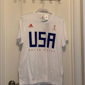 Adidas FIFA World Cup 2018 brand new white tee